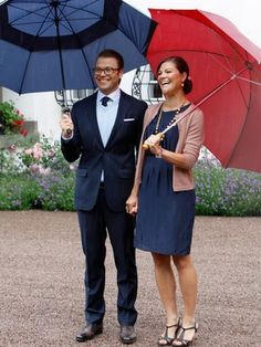 Crown Princess Victoria of Sweden & husband Daniel