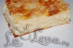 Placinta greceasca cu branza (Tiropita) Desert Recipes, Tart, Cheesecake, Deserts, Pie, Food, Sweet, Torte, Cake