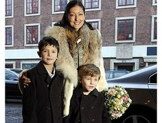 Alexandra, Countess of Frederiksborg, the first and former wife of Prince Joachim of Denmark, and the couple's sons, Prince Nikolai and Prince Felix. Prince Felix Of Denmark, Princess Alexandra Of Denmark, Alexandra Manley, Royal Family Christmas, Danish Prince, Danish Royalty, Danish Royal Family, Latest Celebrity News, Crown Princess Mary