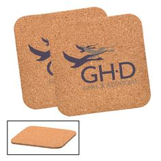 This square coaster features a natural cork finish. A stylish addition to any table set or bar top. An ideal promotional product for restaurants, bars, or. Cork, Design Department, Custom Coasters, Drink Coasters, Screen Printing, Beverages, Table Settings, Giveaways, Restaurants