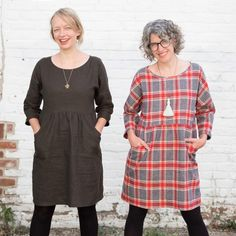 Jaime and Amber both make Fancy Tiger Fen dresses for Fall!