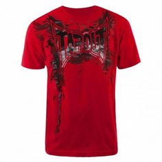Camiseta Tapout Men s All Out T-Shirt Red  Camisetas  Tapout 39a5db4bc4e