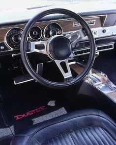 1969 Plymouth Duster - Looks just like the interior of our 1969 Plymouth Duster. We drove it from 1975-1979.  It was a great car.