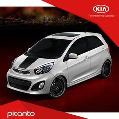 """""""The Picanto goes under the knife for this weeks modification poll. Is this Picanto a Yay or Nay? Kia Picanto, Nissan March, Kia Motors, Under The Knife, Hot Cars, Exotic Cars, Toyota, Dan, Recipies"""
