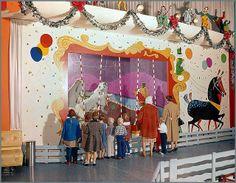 Ford Rotunda Building at Christmas, 1961