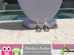Moon Earrings Moon Jewelry Space Earrings by MichelleriesBoutique, $10.50