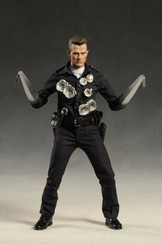 T 1000 Terminator 1000 Terminator sixth scale action figure from Hot Toys