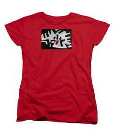 Purchase a women's Red Designer t-shirt featuring the image of White Tiger 2014 by Patrick Francis. Available in sizes S - XXL. Each womens t-shirt is printed on-demand, ships within 1 - 2 business days, and comes with a money-back guarantee. Designing Women, Lady In Red, T Shirts For Women, Mens Tops, Painting, Shopping, Ships, Money, Printed