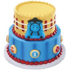Thomas and Friends Cake with Edible Decor