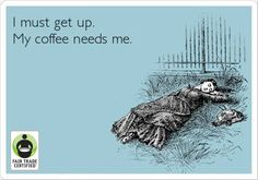 Can you relate? Happy Friday #FairTrade-rs! #coffee #SCAA2014
