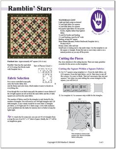 From Marti Michell Quilting Blog