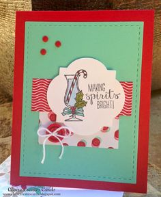 Making Spirits Bright--FMS 156 by Claire Creates Cards