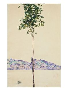 Little Tree (Chestnut Tree at Lake Constance) Giclee Print at AllPosters.com