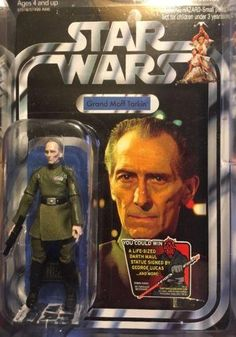 Star Wars The Vintage Collection Tarkin VC98 MOSC UNPUNCHED