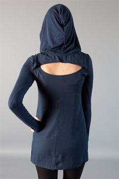 Waaaaant. Hooded sheer tunic, $34.00