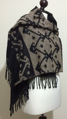 Oversized Merino Wool Scarf - Sun Song by VIDA VIDA Nsi3aP1V6