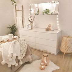 Sending positive Thursday vibes to yall. Cute Room Ideas, Cute Room Decor, Girl Bedroom Designs, Aesthetic Room Decor, Minimalist Room, Boho Room, Dream Rooms, Dream Bedroom, Fashion Room