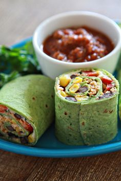 Queso Fresco Chipotle Chicken and Veggie Wrap
