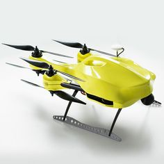Ambulance Drone by Alec Momont: a TU Delft graduate has presented an unmanned aerial vehicle with built-in defibrillation equipment, which could fly to a patient suffering from a heart attack in a fraction of the time it would take an ambulance to drive.