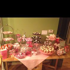 Valentine wedding.....Candy buffet   Key Largo Conch House ...