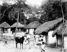 A. Duperly & Sons - Rural Village, Jamaica