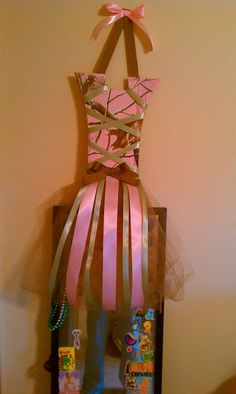 bow holder I made!!