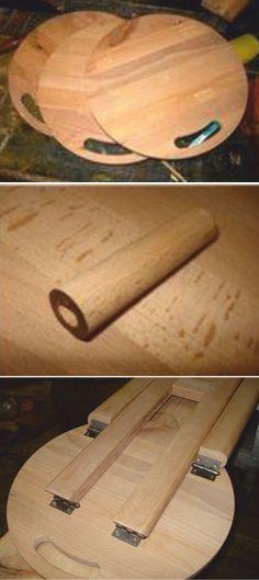 Decoding Tallon S Iconic Folding Stools To Diy Portable