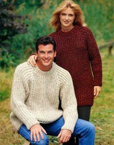 Stylecraft--Fisherman's Rib Sweater