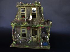Fairy House with Magic | This artisan fairy house is handpai… | Flickr