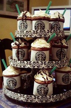 Starbucks cupcakes;)