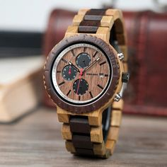 Shop & Buy relogio masculino Watch Men Top Luxury Brand Wooden Timepieces Chronograph Quartz Watches Men's Giftsping Online from Aalamey G Shock Watches Mens, Mens Watches Online, Best Watches For Men, Mens Sport Watches, Cheap Watches, Military Style Watches, Army Watches, Watch Gift Box, Top Luxury Brands