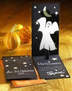 5 stk einladung halloween einladungskarte kindergeburtstag halloween kinderpartys. Black Bedroom Furniture Sets. Home Design Ideas