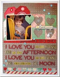 I love you by Daniela Dobson - love this!