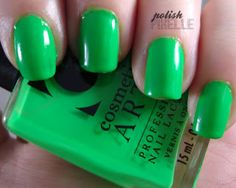 Cosmetic Arts Lime Green
