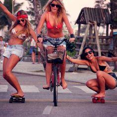 ...longboarding on a summer day! Goldie Bone: SPORTS TREND - Longboard