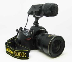 On-camera mics for DSLR video - suggestions/how different mics work.