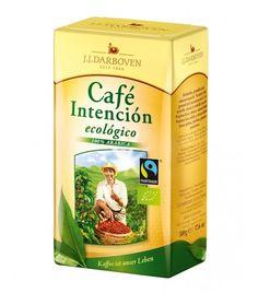 J.J.Darboven: Cafe Intencion Ecologico (Fair & Bio) 12 x 500 g gemahlen