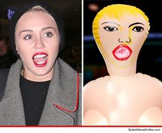 Miley Cyrus -- Doll Face! I love Miley Cyrus but this is to funny