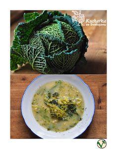 Kuchařka ze Svatojánu: KAPUSTOVÁ POLÉVKA Cabbage, Soup, Vegetables, Soups, Vegetable Recipes, Cabbages, Collard Greens, Sprouts, Chowder