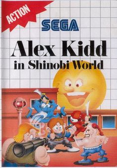 Alex Kidd in Shinobi World - SEGA Mega Drive