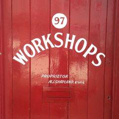 Sign Writing   Garage Workshop   Bristol