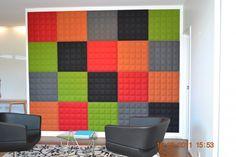 Sound absorbing wall tiles BUZZI TILE by BuzziSpace design Sas Adriaenssens Wall Tiles Design, 3d Tiles, Sound Absorbing, House Styles, Rugs, Modern, Inspiration, Home Decor, Interiors