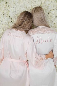 369c68e560 Wedding robes from The Little Lovebird bridesmaid robes