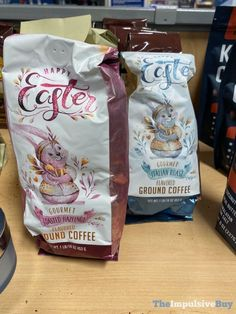 Happy Easter Gourmet Toasted Hazelnut and Italian roast Flavored Ground Coffee Gourmet Salt, Italian Roast, Easter 2020, Ground Coffee, Food Reviews, Junk Food, Happy Easter, Cocoa, Toast