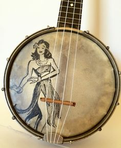 Your place to buy and sell all things handmade Ukulele Design, Banjo Ukulele, Hula Girl, Mandolin, Gumbo, Musical Instruments, Hawaiian, Safari, Dancer