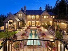 Amazing Custom Residence In Westwood Pleateau Dream Homes Luxury
