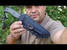 ESEE 6 Knife Review: Andre from SurvivalZoneAfrica Survival Knife, Survival Gear, Knives, Knife Making, Knifes