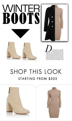 """Winter boots II"" by julia-12345 ❤ liked on Polyvore featuring STELLA McCARTNEY, Rumour London, Miss Selfridge and Anja"