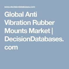 Global Anti Vibration Rubber Mounts Market   DecisionDatabases.com Marketing