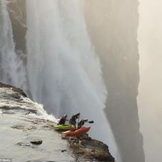 Victoria falls... not in South Africa but close enough.... one of the 7 wonders of the world..